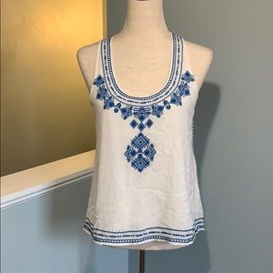 THML Embroidered Tunic Top - NWOT